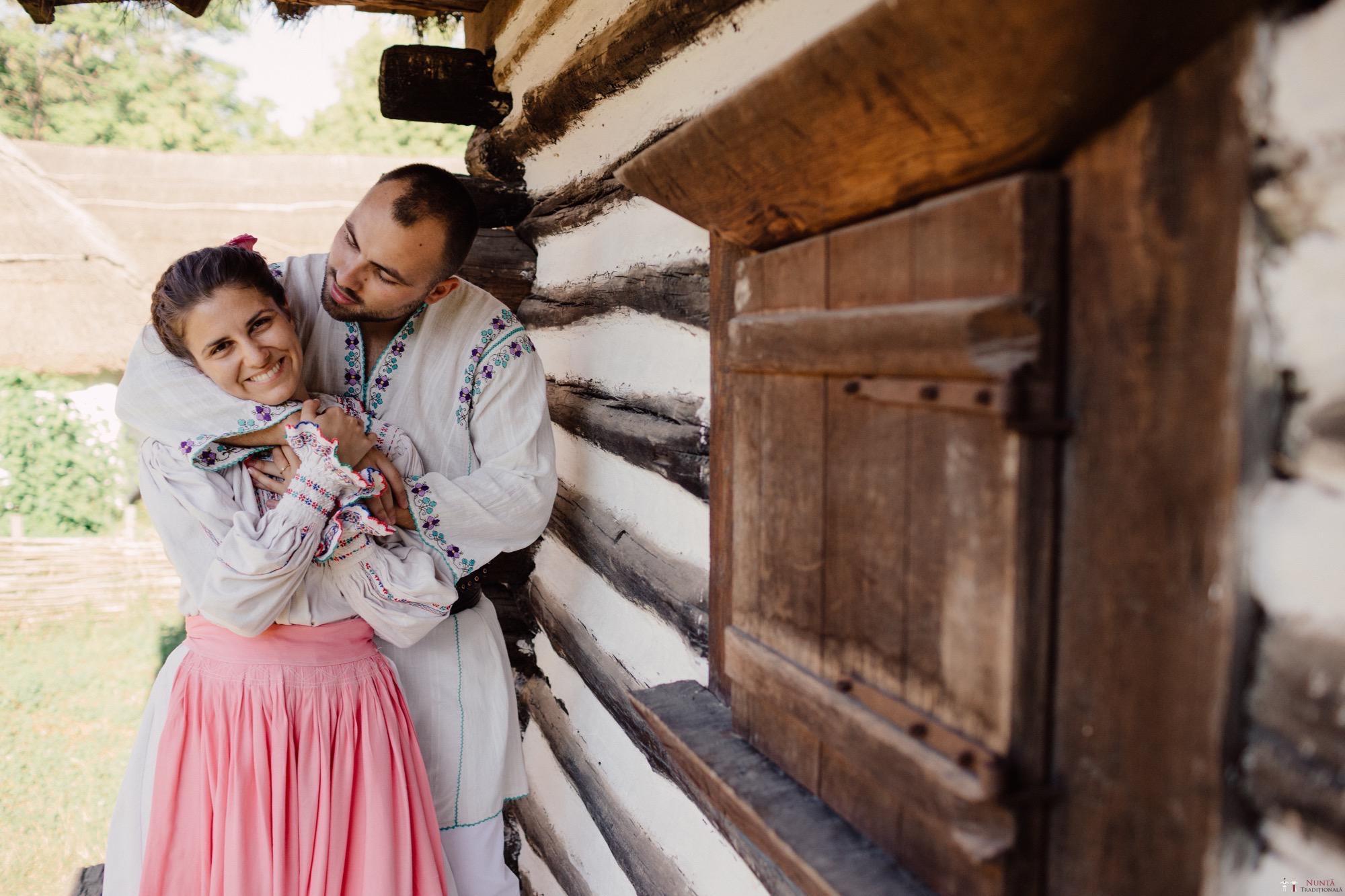 Povești Nunți Tradiționale - Oana și Silviu. Nuntă tradițional românească în București 124