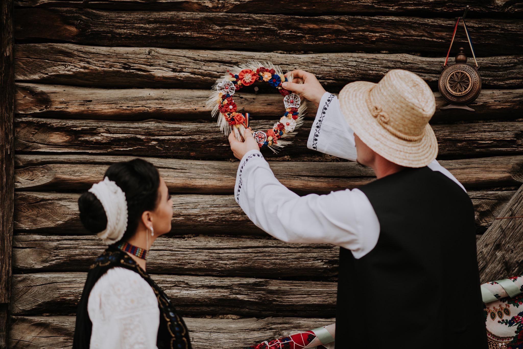 Povești Nunți Tradiționale - Silvia și Adrian. Nuntă tradițională în Ghighișeni, Bihor 25