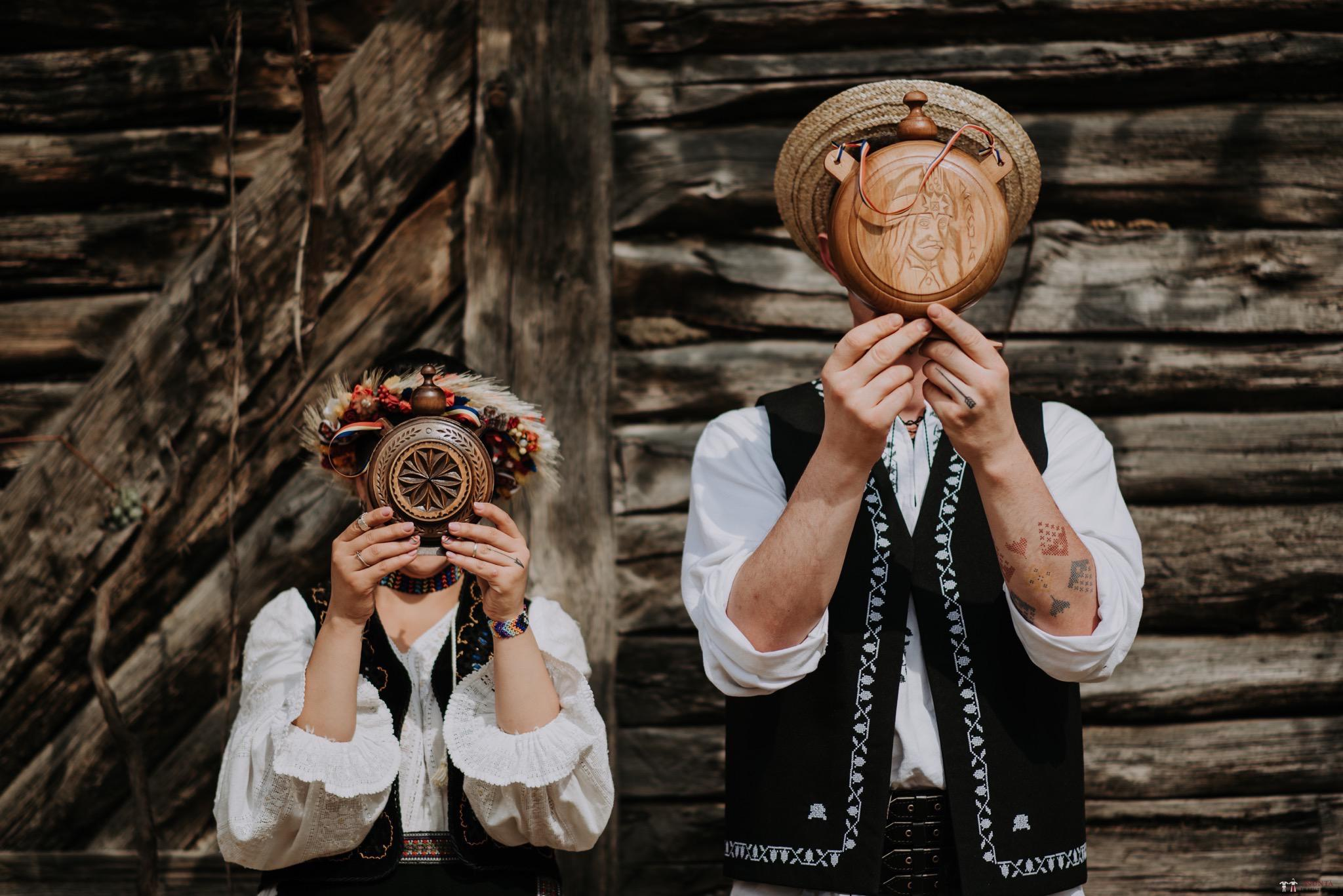 Povești Nunți Tradiționale - Silvia și Adrian. Nuntă tradițională în Ghighișeni, Bihor 38