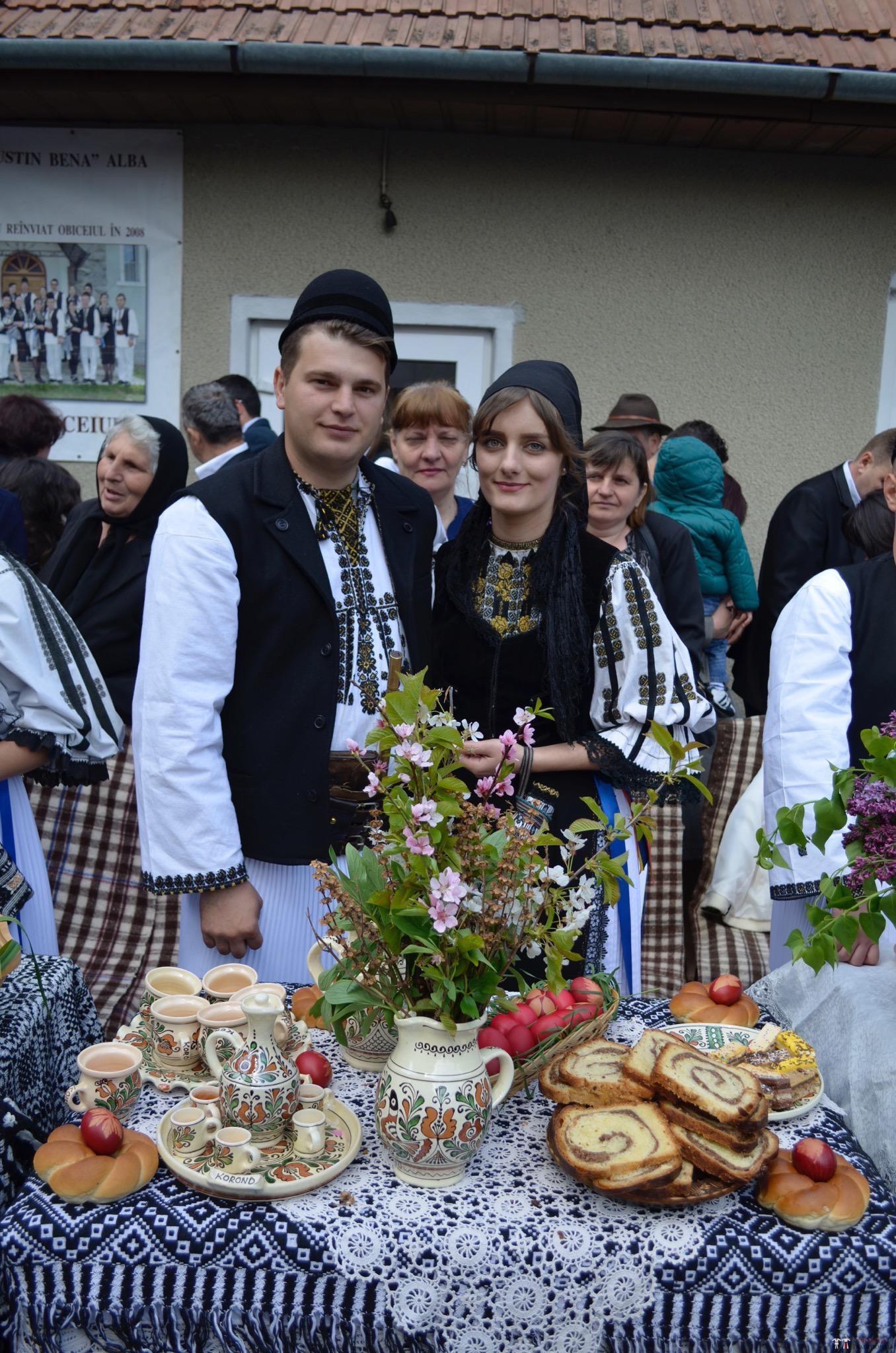 Povești Nunți Tradiționale - Constantin și Simona-Marilena. Nuntă tradițională în Căpâlna, Alba 73