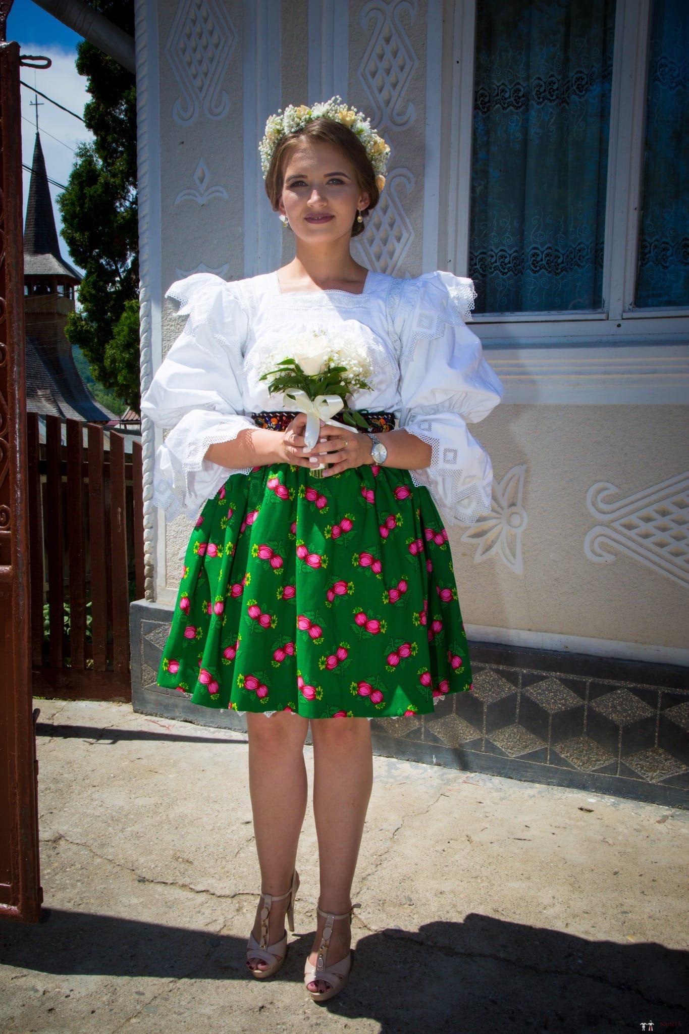 Povești Nunți Tradiționale - Ancuța și Nicu, cununie tradițională în Giulești, Maramureș 10