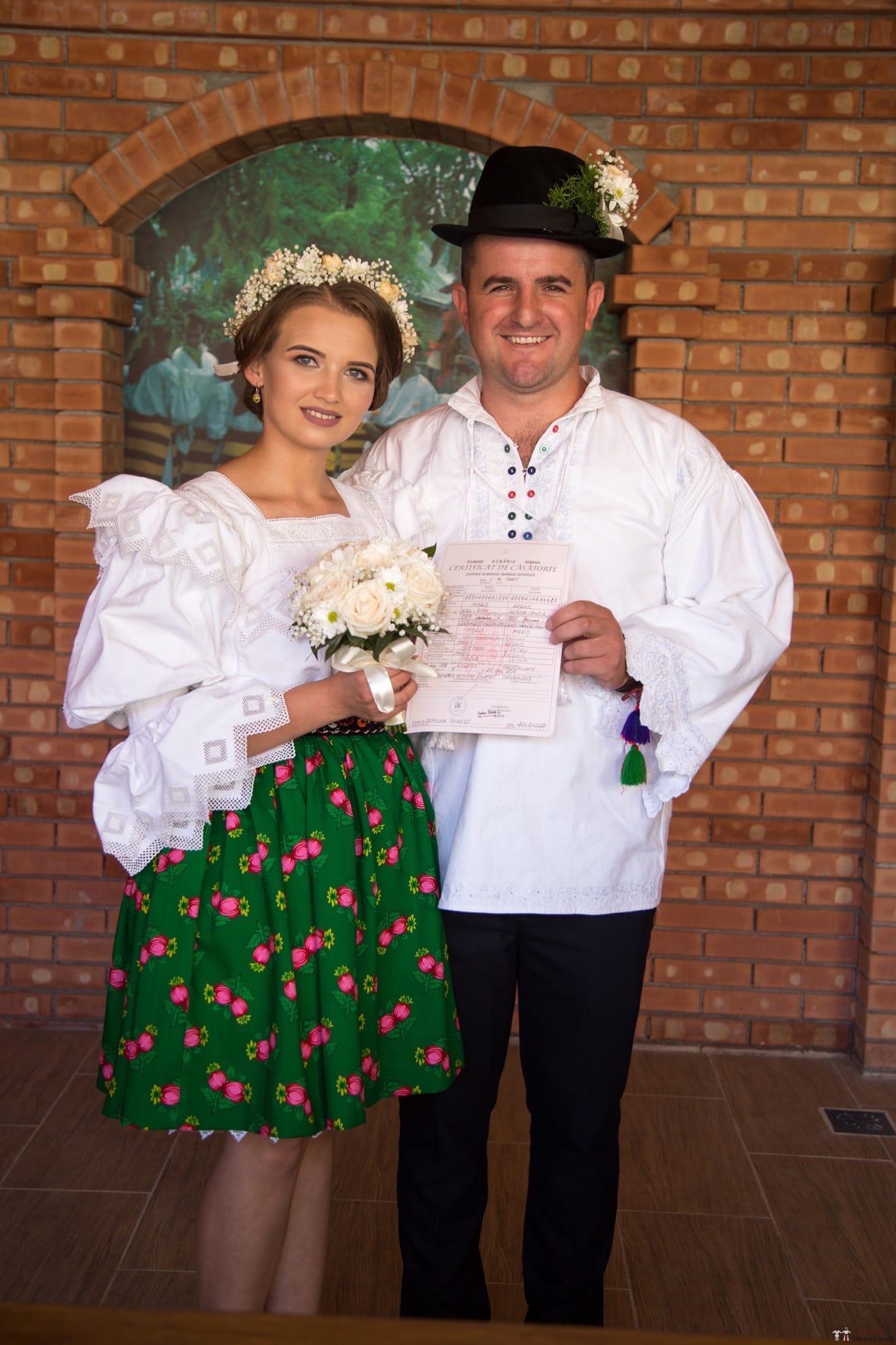 Povești Nunți Tradiționale - Ancuța și Nicu, cununie tradițională în Giulești, Maramureș 25