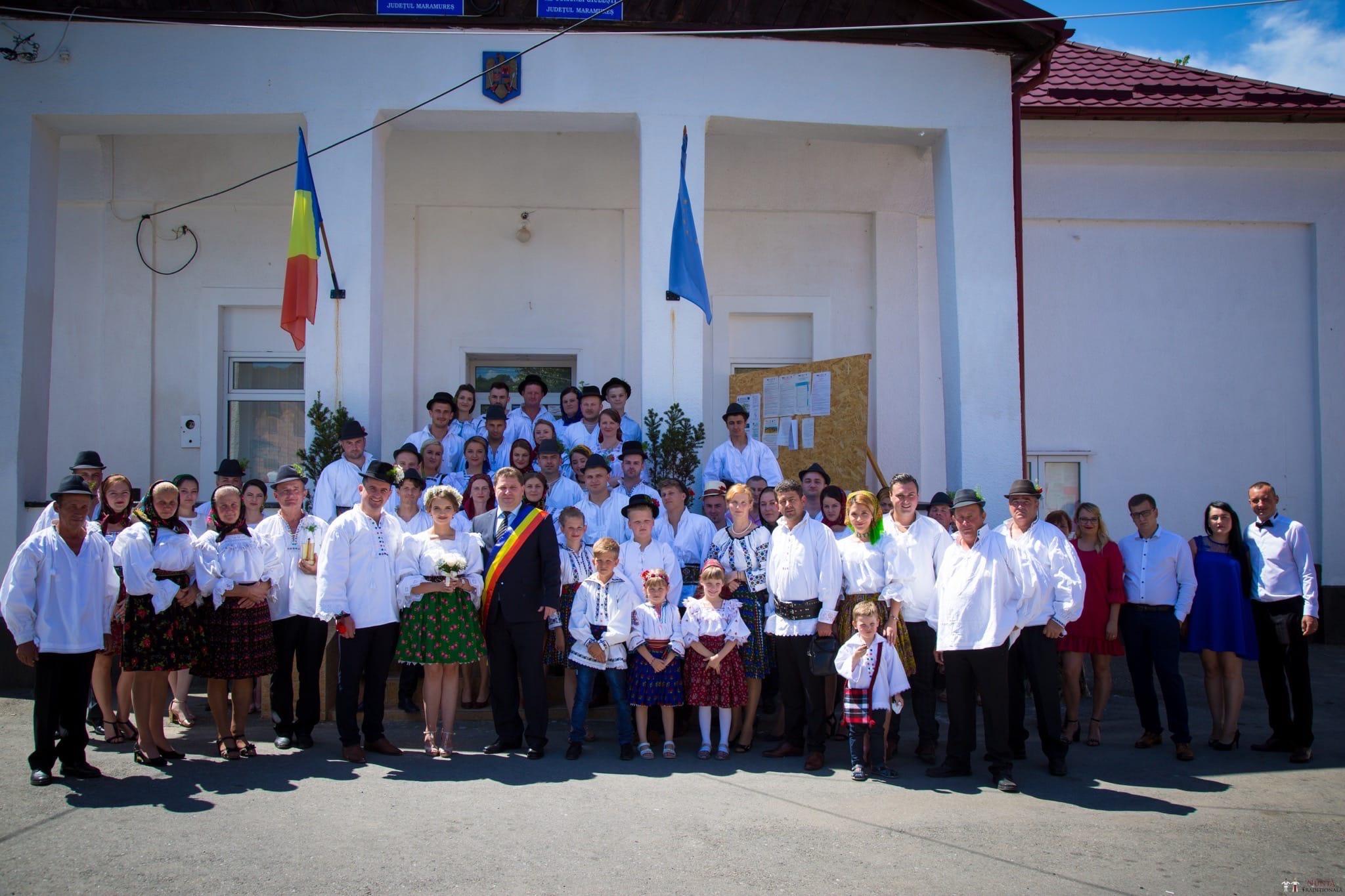Povești Nunți Tradiționale - Ancuța și Nicu, cununie tradițională în Giulești, Maramureș 28