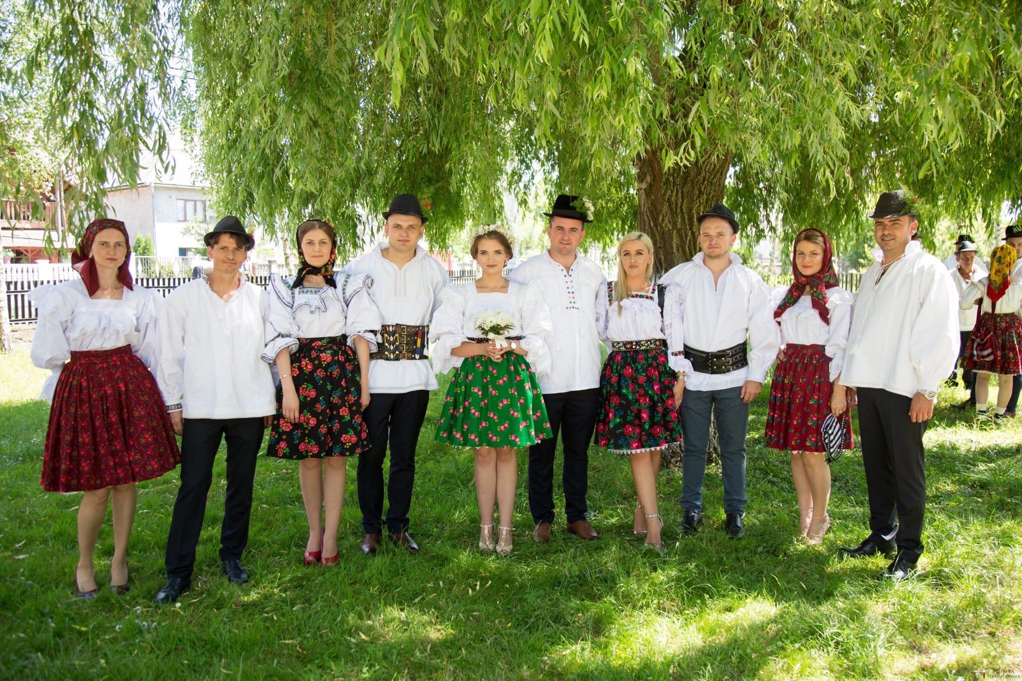 Povești Nunți Tradiționale - Ancuța și Nicu, cununie tradițională în Giulești, Maramureș 30