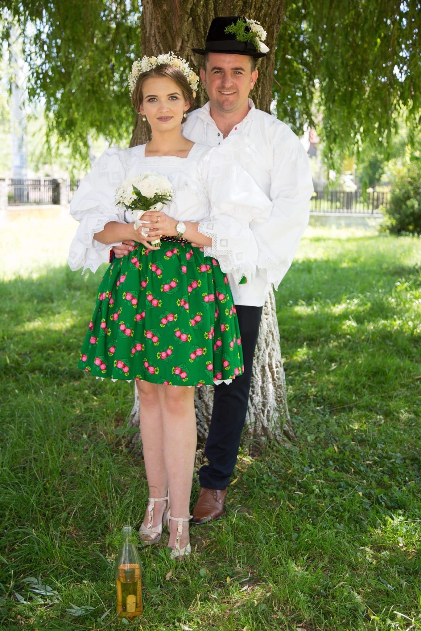 Povești Nunți Tradiționale - Ancuța și Nicu, cununie tradițională în Giulești, Maramureș 32