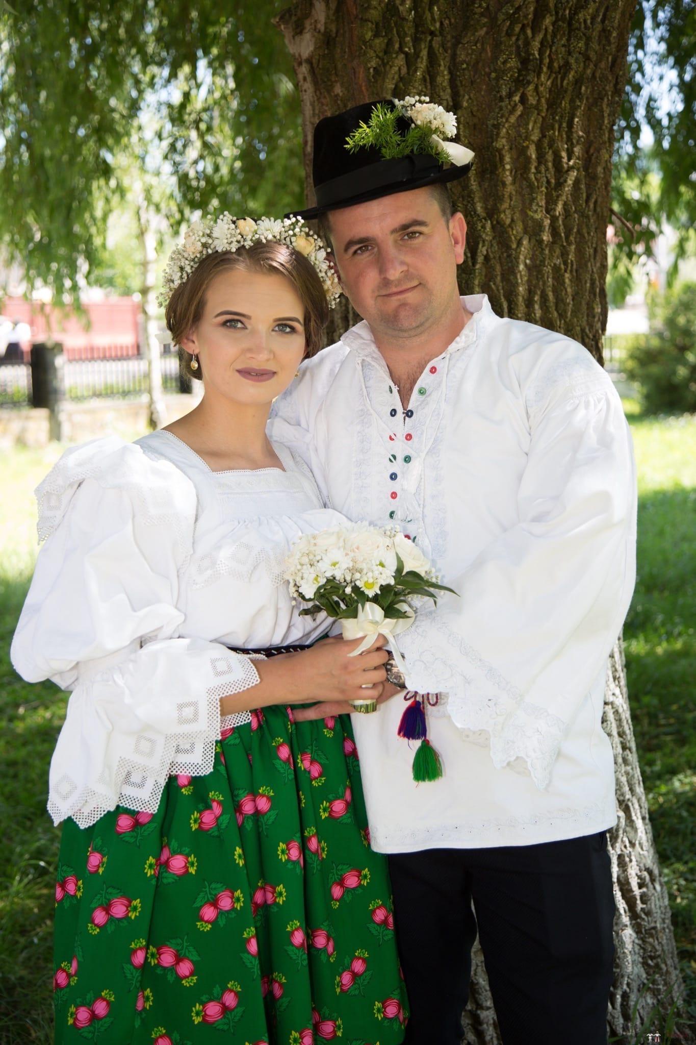 Povești Nunți Tradiționale - Ancuța și Nicu, cununie tradițională în Giulești, Maramureș 34