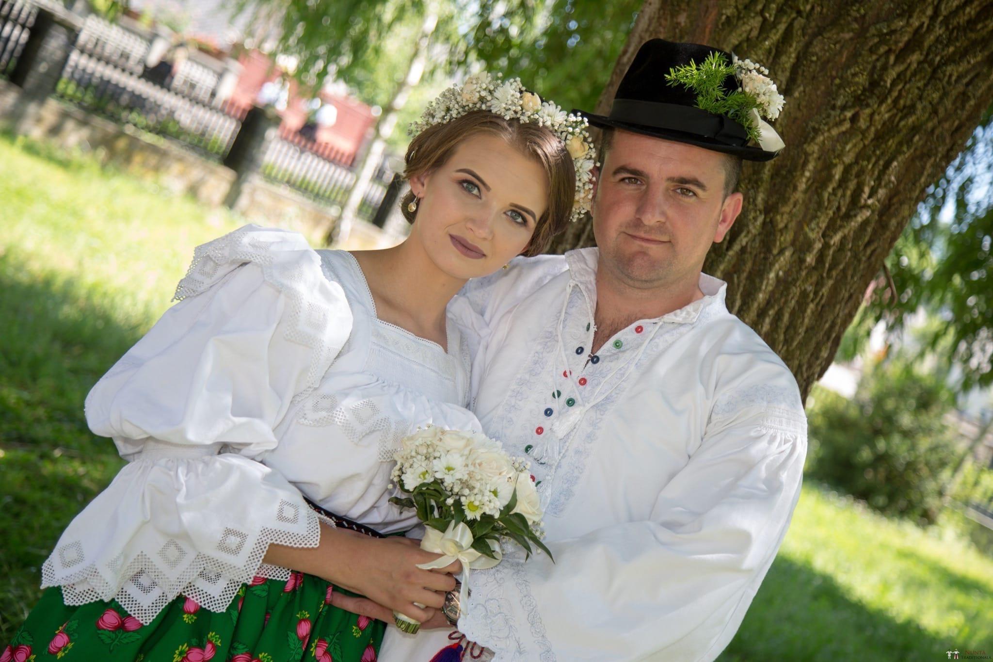 Povești Nunți Tradiționale - Ancuța și Nicu, cununie tradițională în Giulești, Maramureș 35