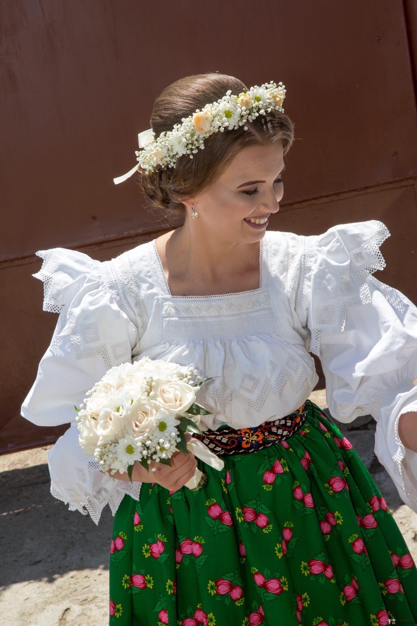 Povești Nunți Tradiționale - Ancuța și Nicu, cununie tradițională în Giulești, Maramureș 6