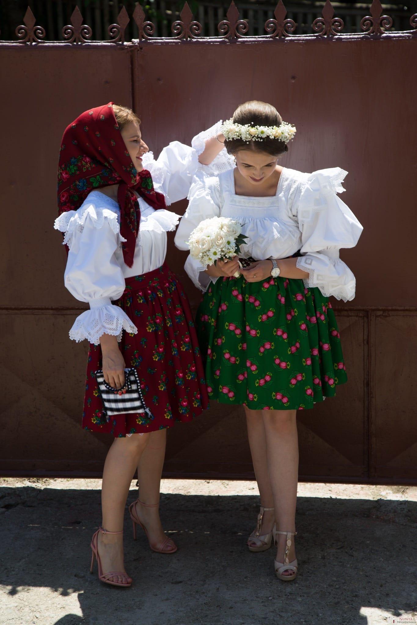 Povești Nunți Tradiționale - Ancuța și Nicu, cununie tradițională în Giulești, Maramureș 7