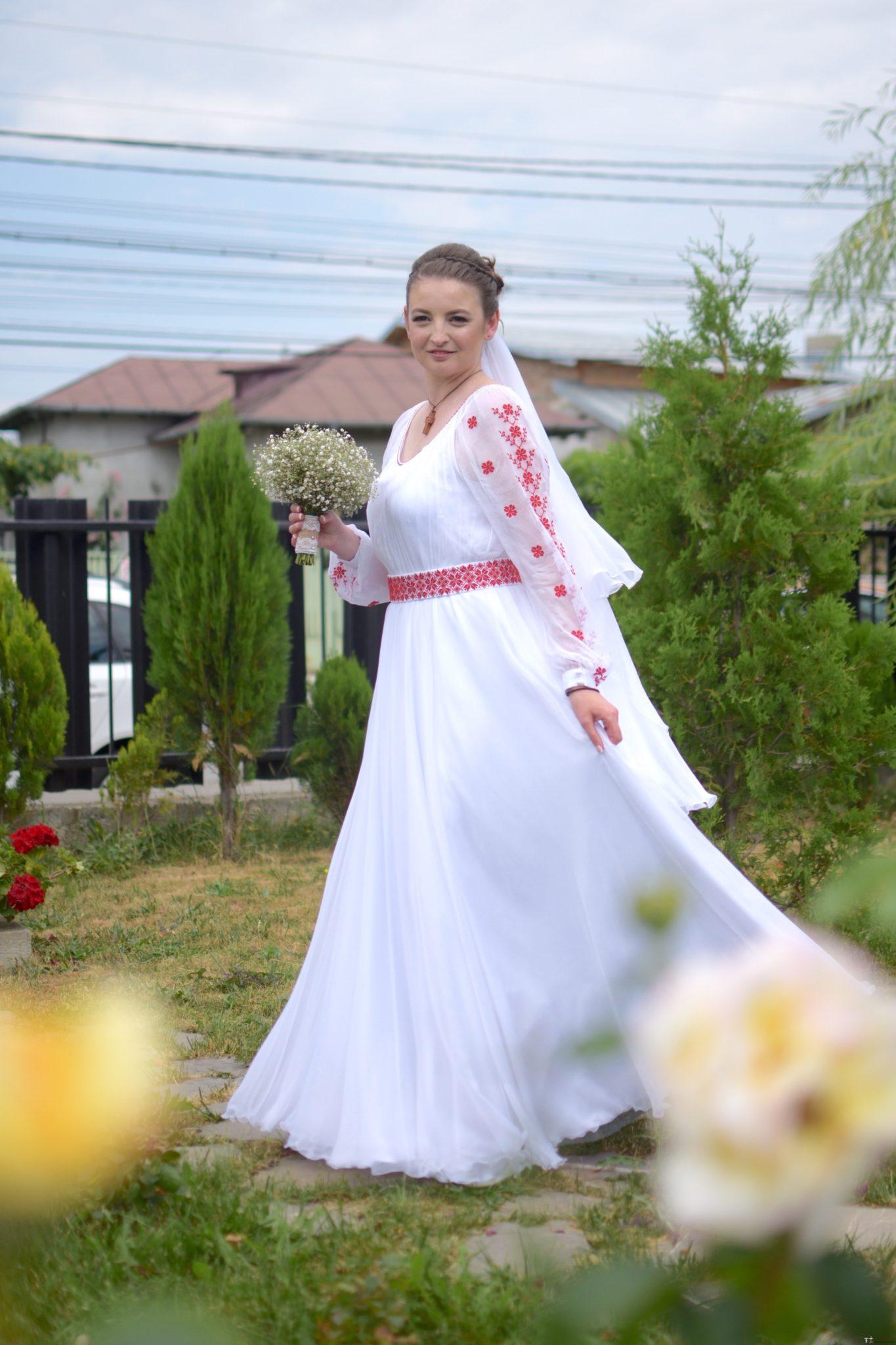 Povești Nunți Tradiționale - George Gabriel și Alexandra Buzatu, nuntă tradițională în Strejnicu, Prahova 10