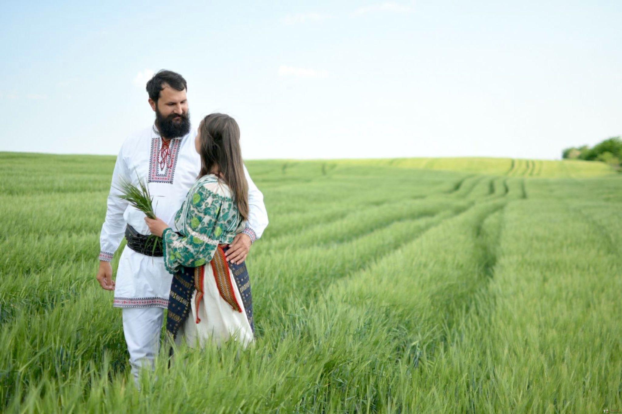 Povești Nunți Tradiționale - George Gabriel și Alexandra Buzatu, nuntă tradițională în Strejnicu, Prahova 19