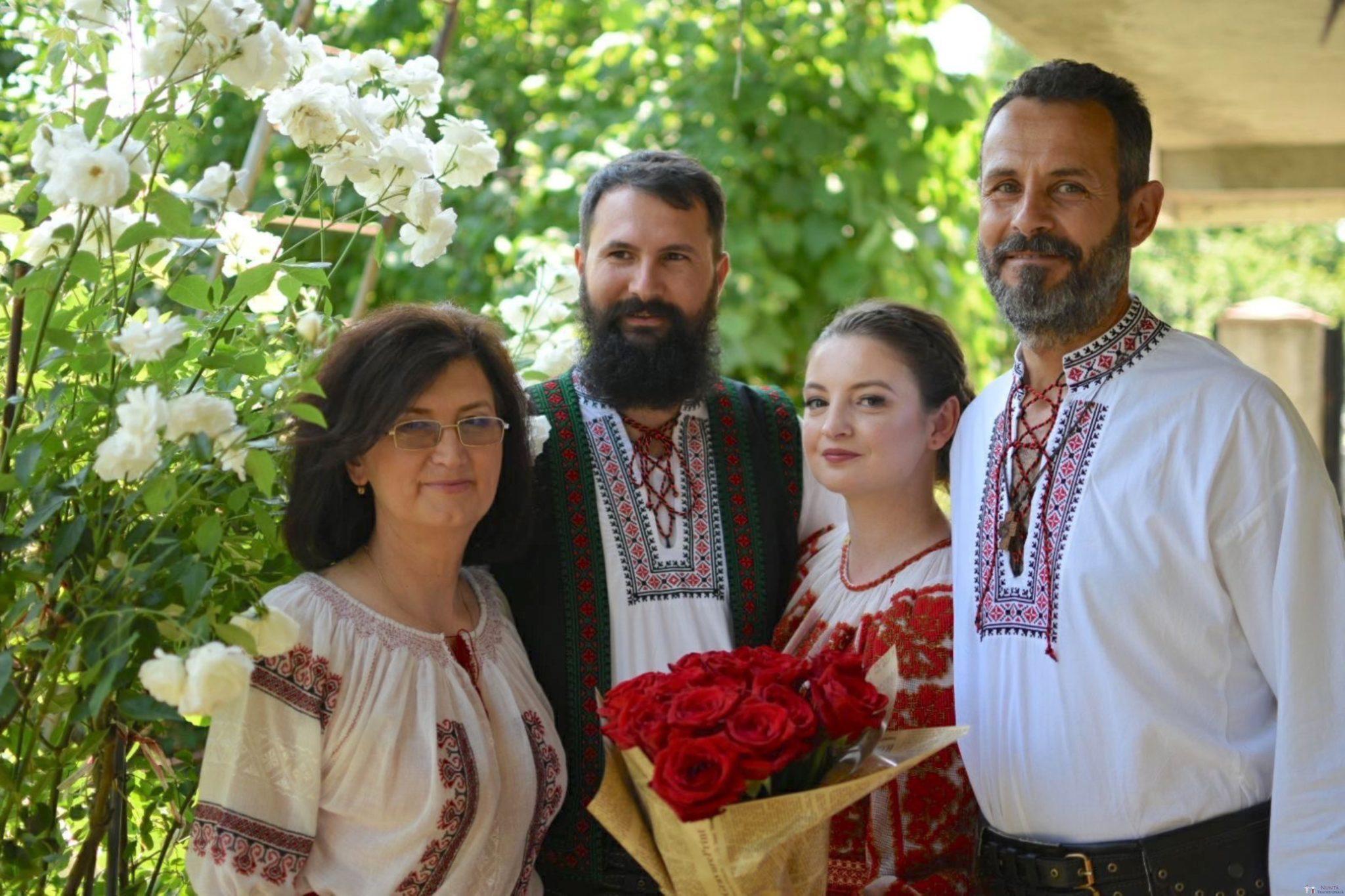Povești Nunți Tradiționale - George Gabriel și Alexandra Buzatu, nuntă tradițională în Strejnicu, Prahova 7