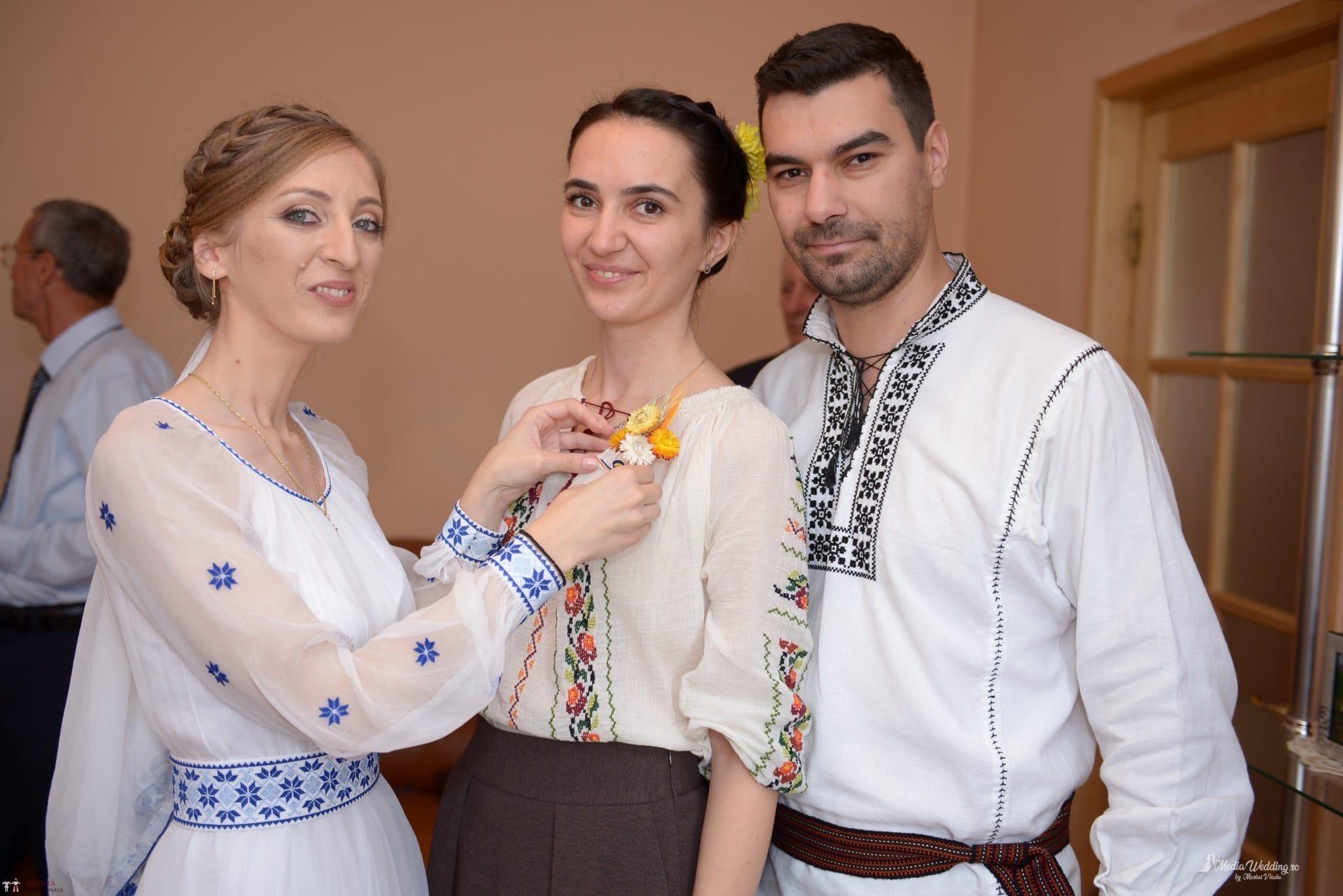 Povești Nunți Tradiționale - Alina-Maria și Ilie, nuntă tradițională în București