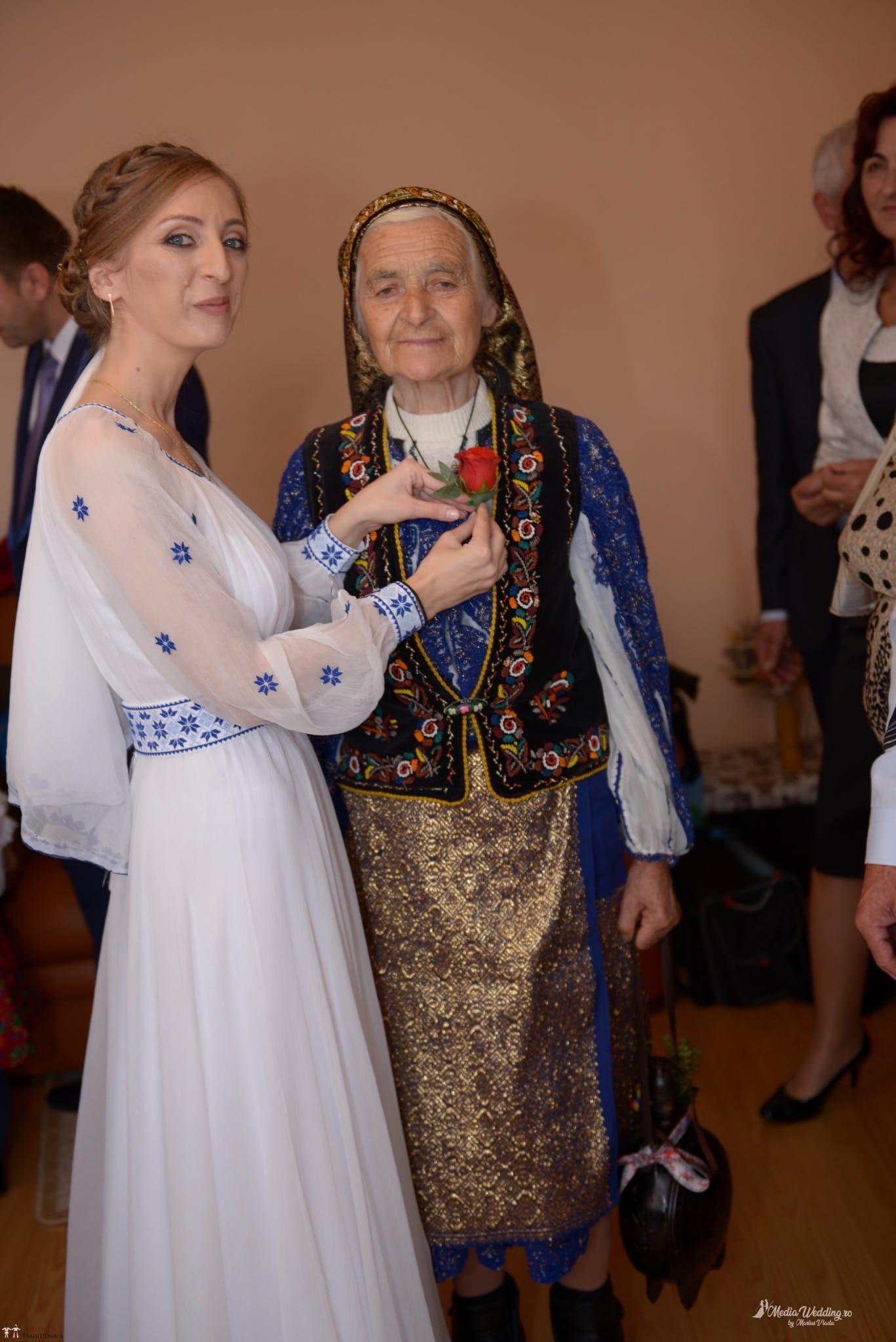 Povești Nunți Tradiționale - Alina-Maria și Ilie, nuntă tradițională în București 10