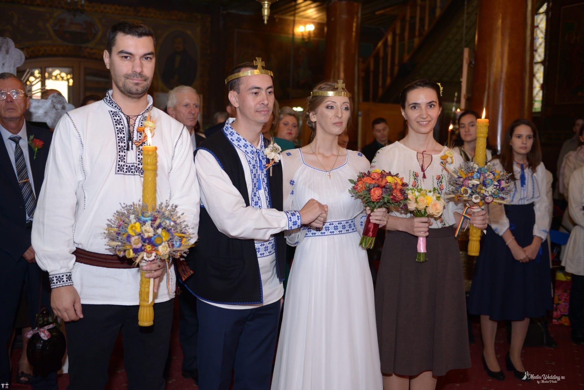 Povești Nunți Tradiționale - Alina-Maria și Ilie, nuntă tradițională în București 13