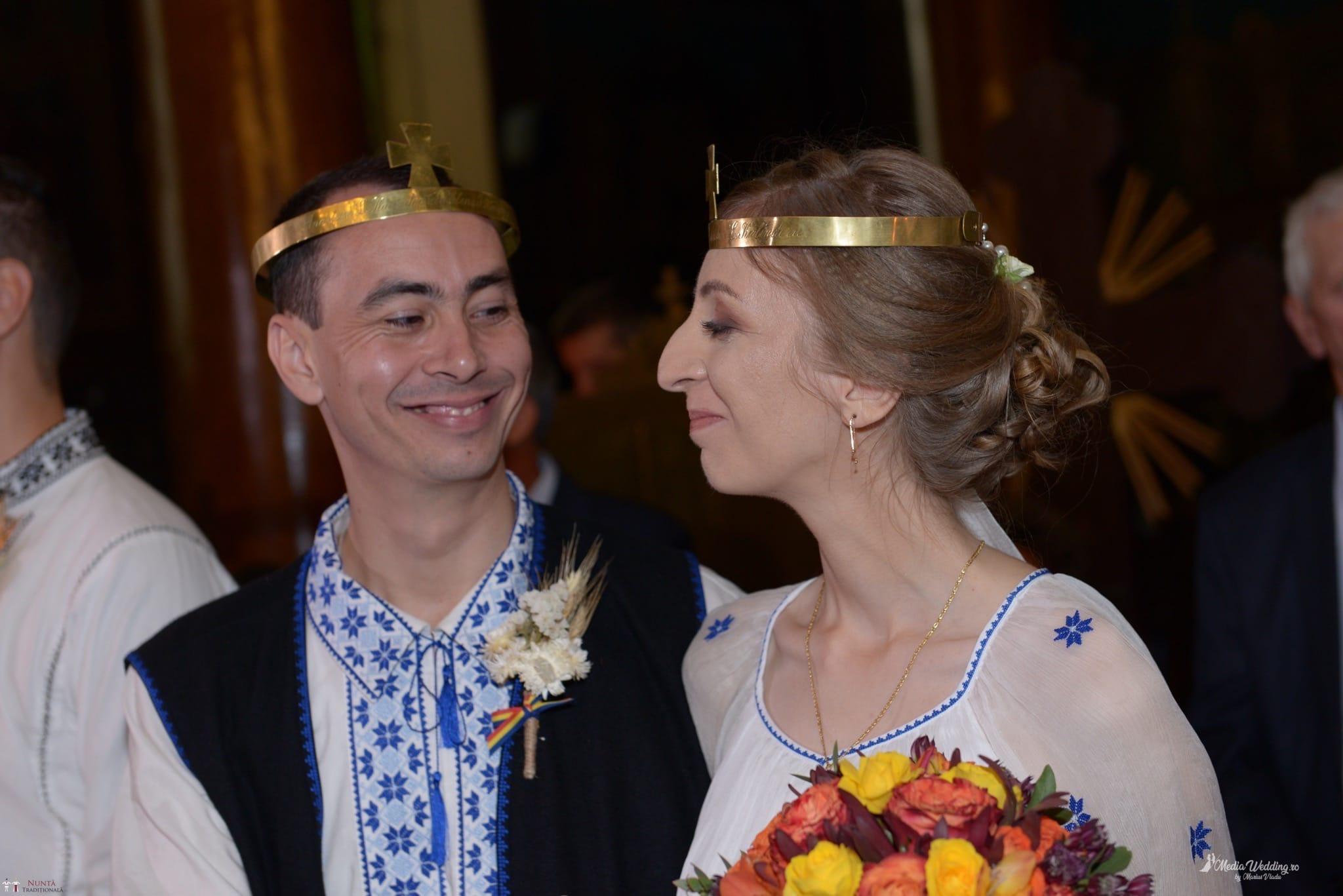 Povești Nunți Tradiționale - Alina-Maria și Ilie, nuntă tradițională în București 14