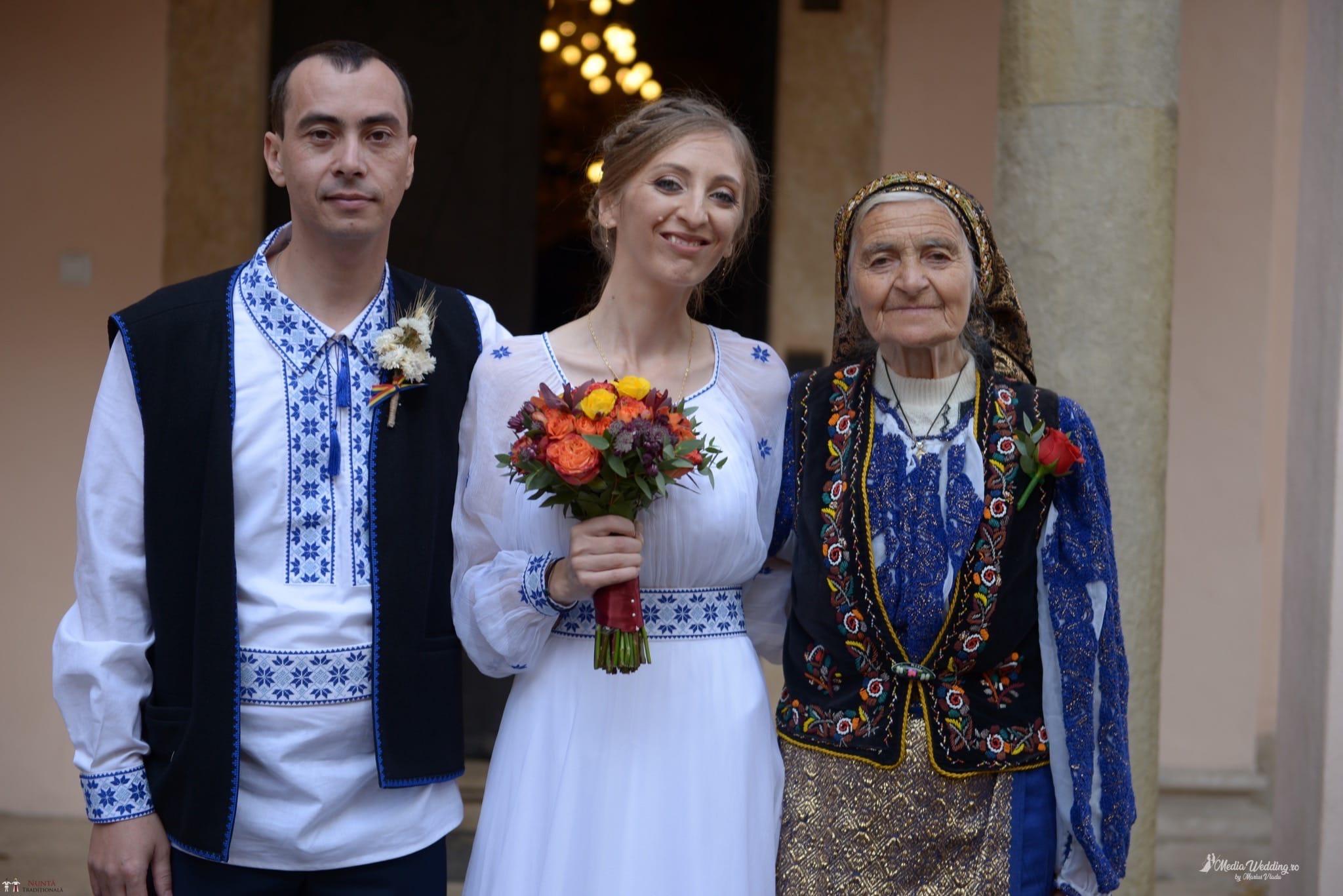 Povești Nunți Tradiționale - Alina-Maria și Ilie, nuntă tradițională în București 16
