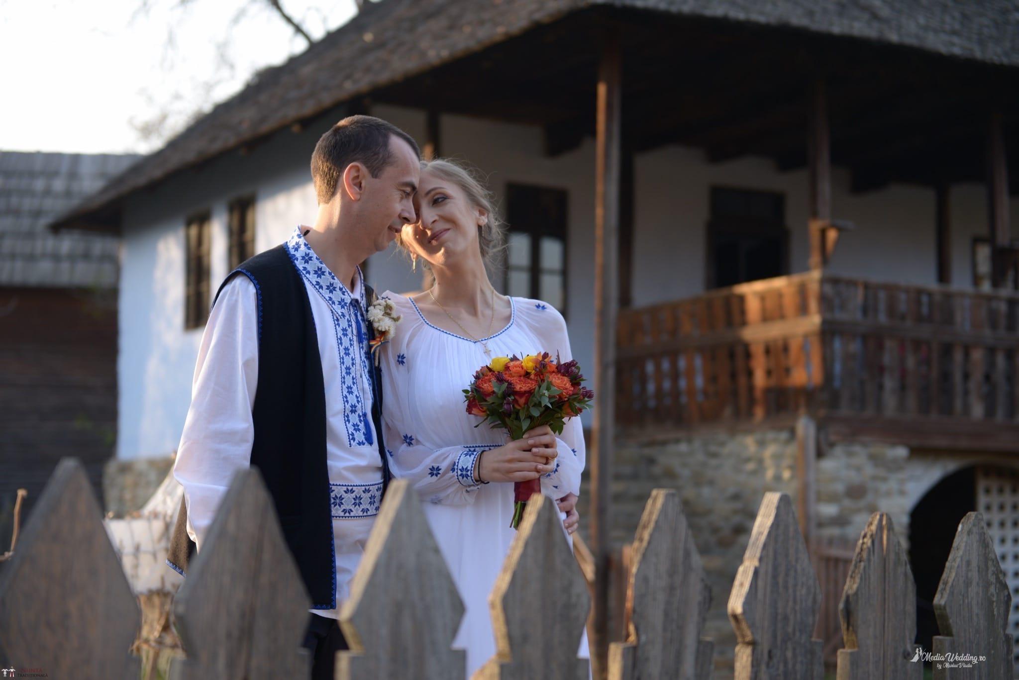 Povești Nunți Tradiționale - Alina-Maria și Ilie, nuntă tradițională în București 19