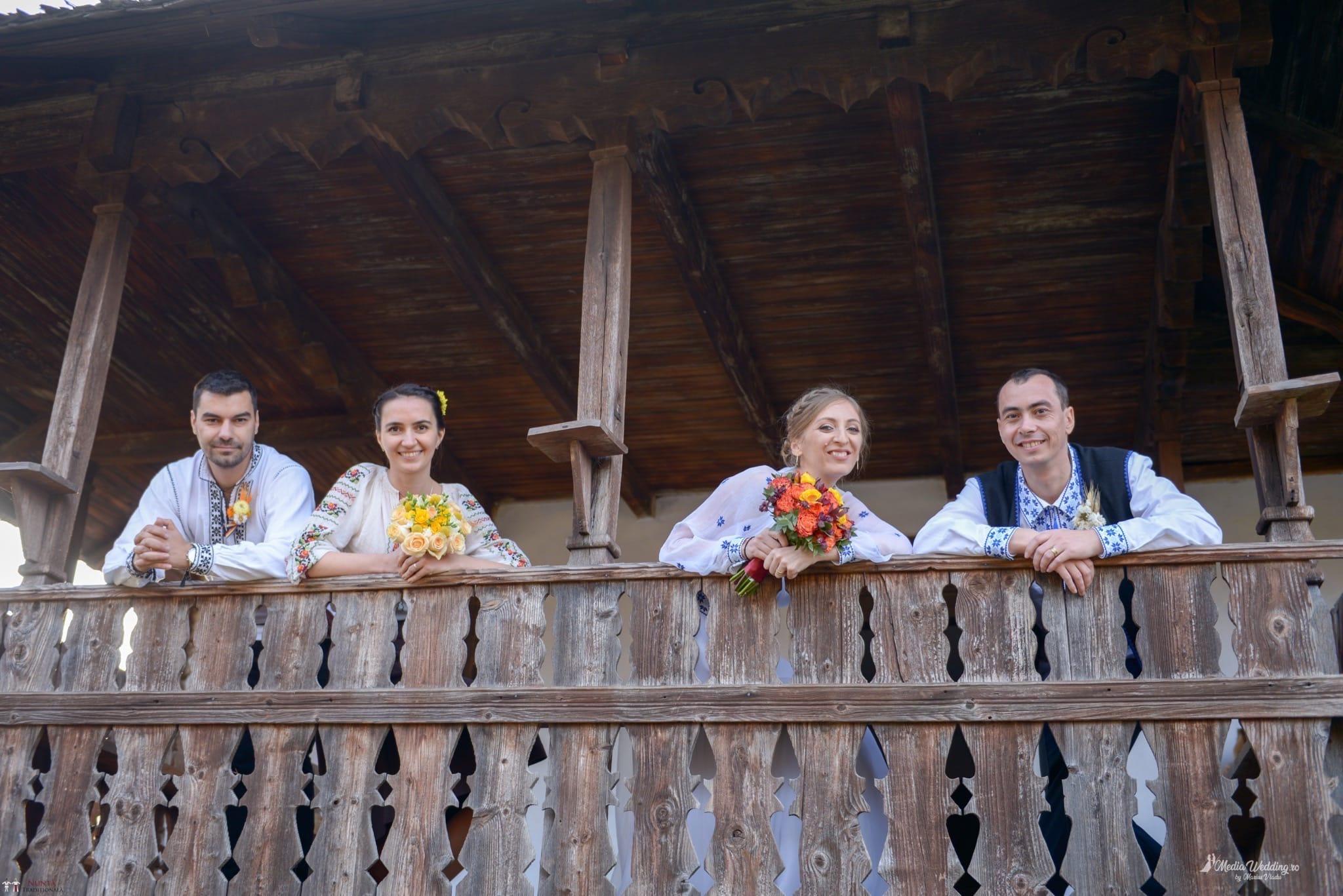 Povești Nunți Tradiționale - Alina-Maria și Ilie, nuntă tradițională în București 20