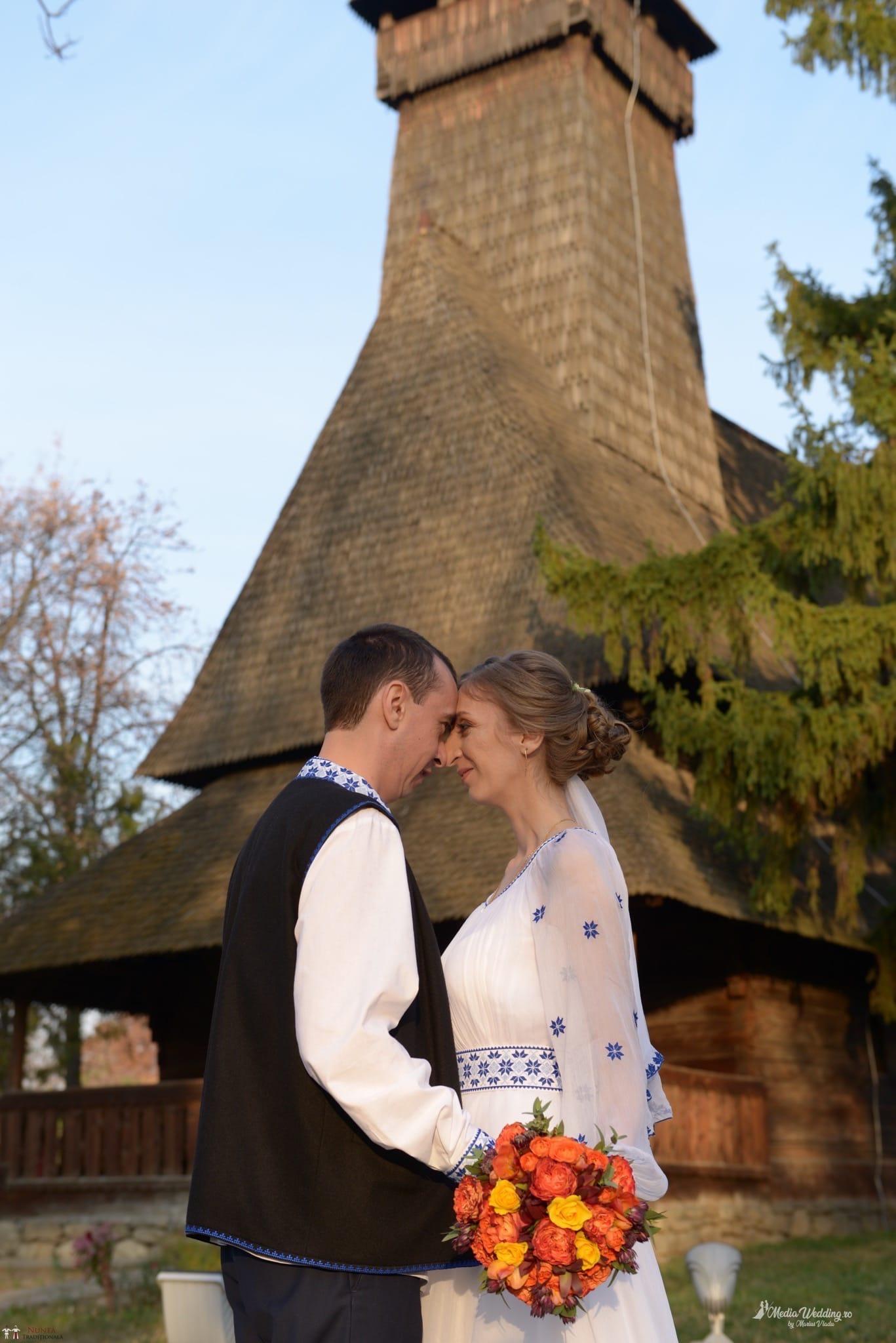 Povești Nunți Tradiționale - Alina-Maria și Ilie, nuntă tradițională în București 21