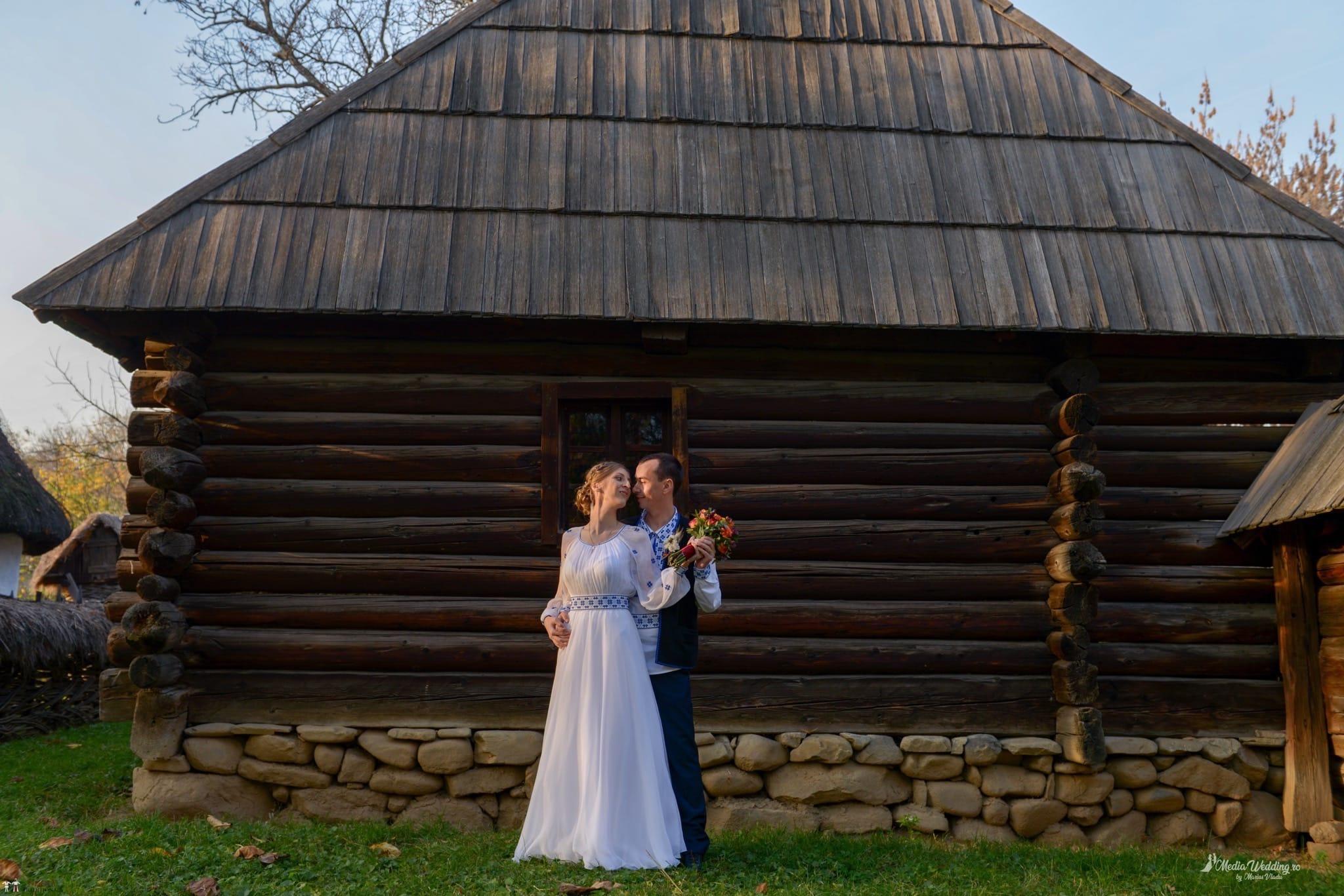 Povești Nunți Tradiționale - Alina-Maria și Ilie, nuntă tradițională în București 22