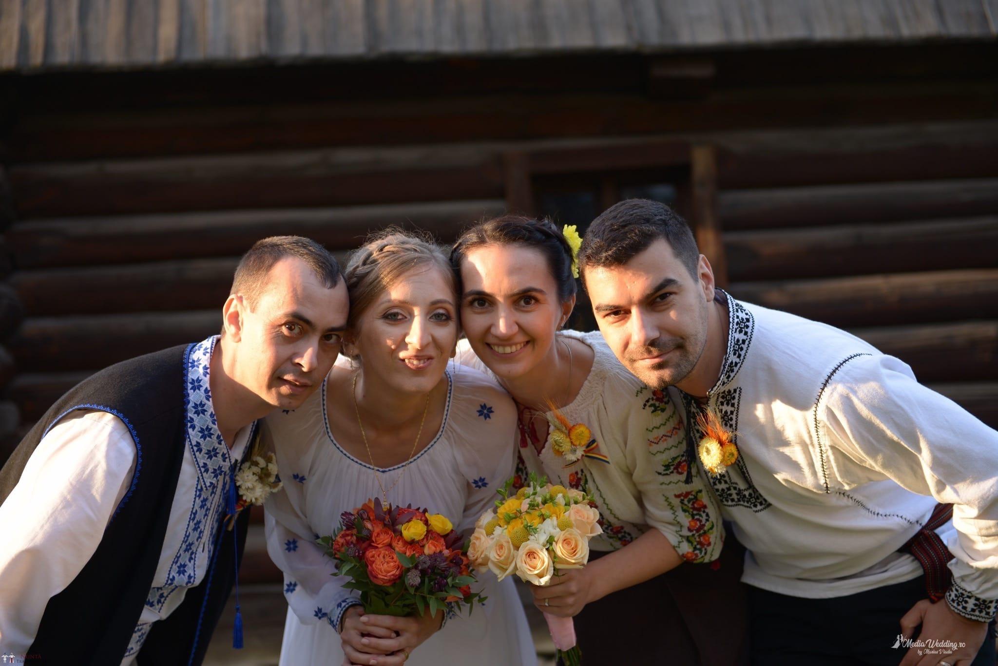 Povești Nunți Tradiționale - Alina-Maria și Ilie, nuntă tradițională în București 23