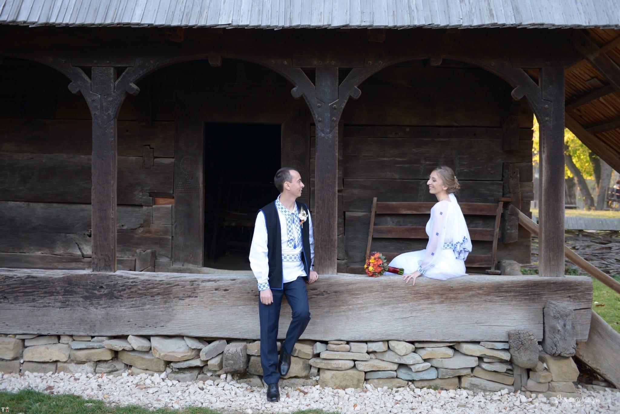 Povești Nunți Tradiționale - Alina-Maria și Ilie, nuntă tradițională în București 24