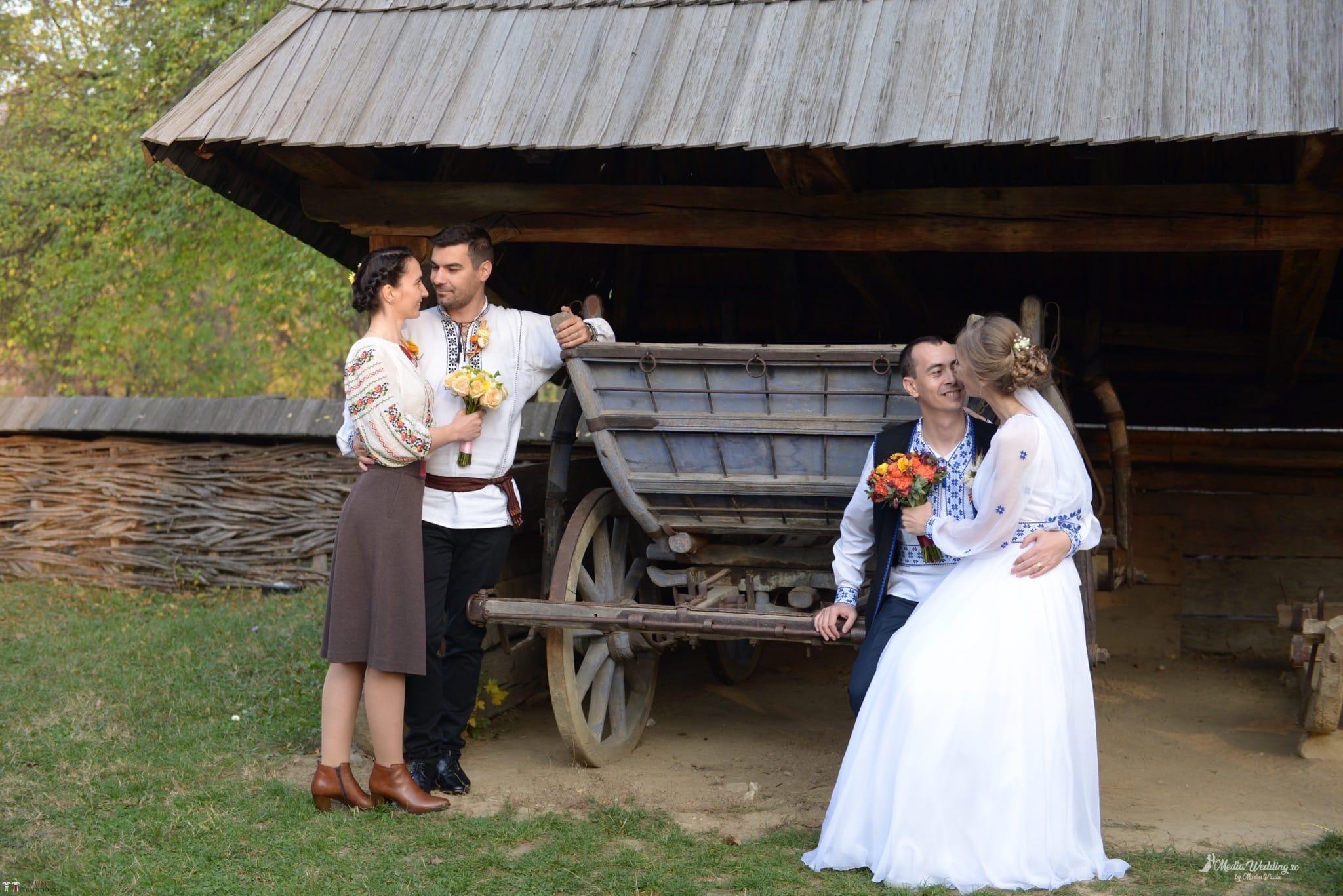 Povești Nunți Tradiționale - Alina-Maria și Ilie, nuntă tradițională în București 25