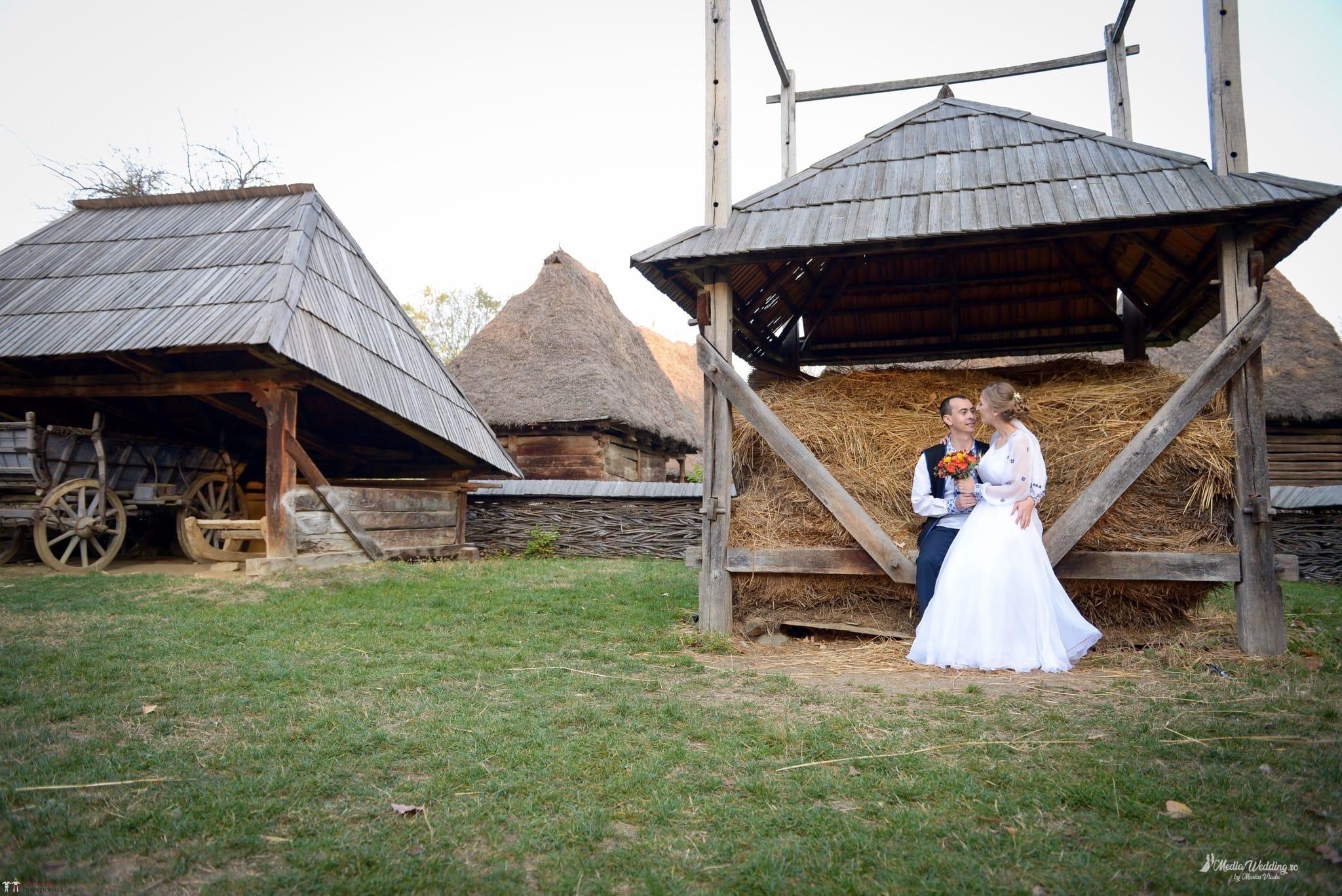 Povești Nunți Tradiționale - Alina-Maria și Ilie, nuntă tradițională în București 26