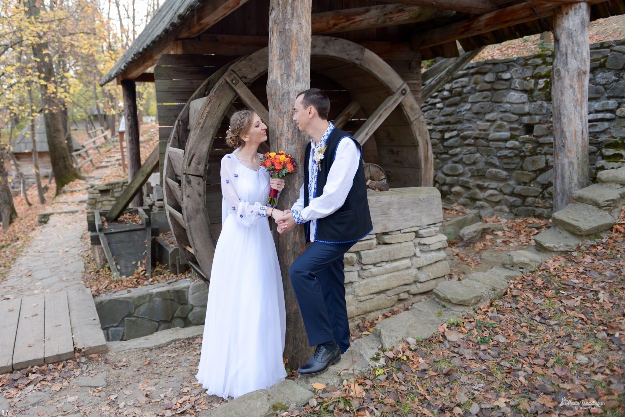 Povești Nunți Tradiționale - Alina-Maria și Ilie, nuntă tradițională în București 27