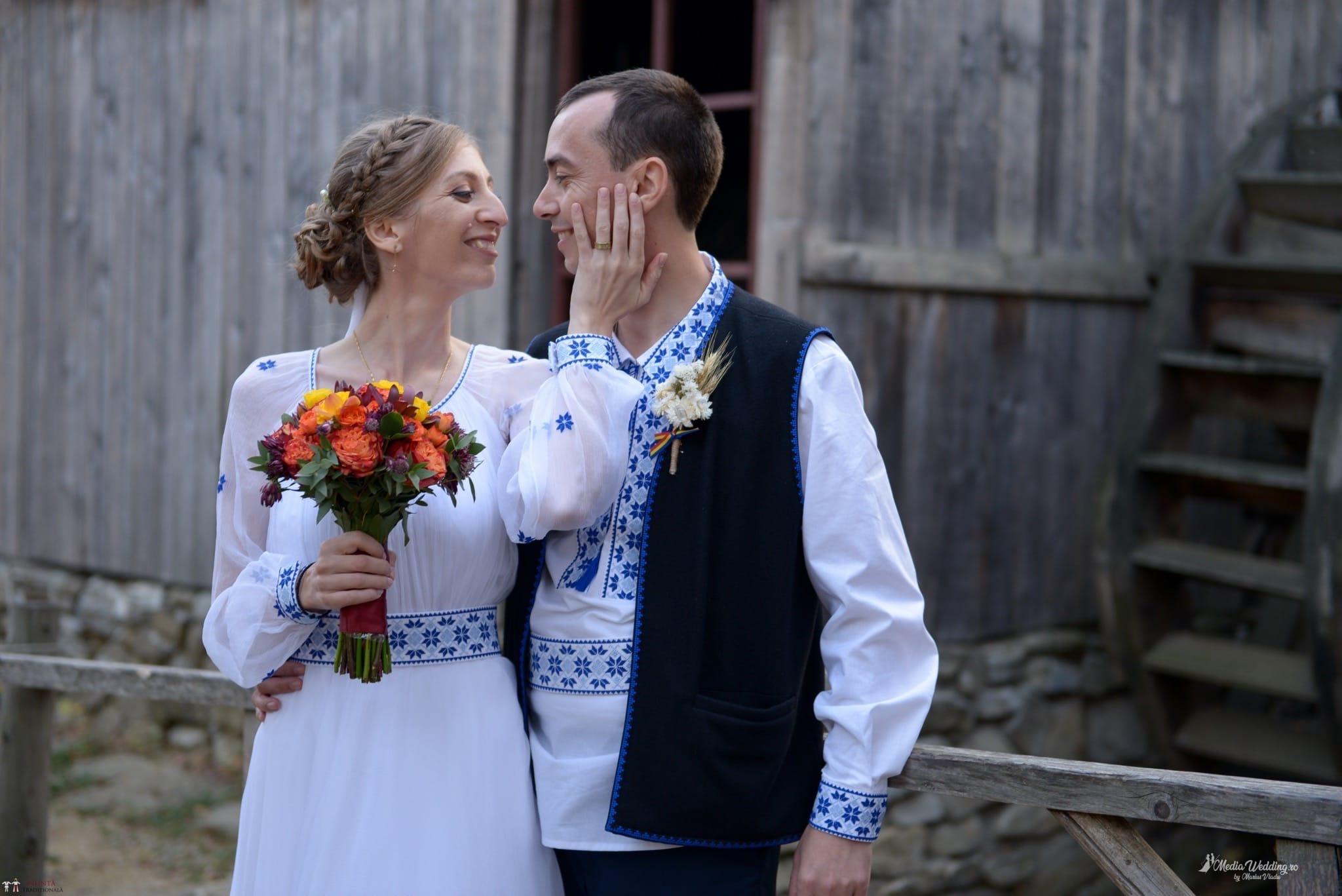 Povești Nunți Tradiționale - Alina-Maria și Ilie, nuntă tradițională în București 28