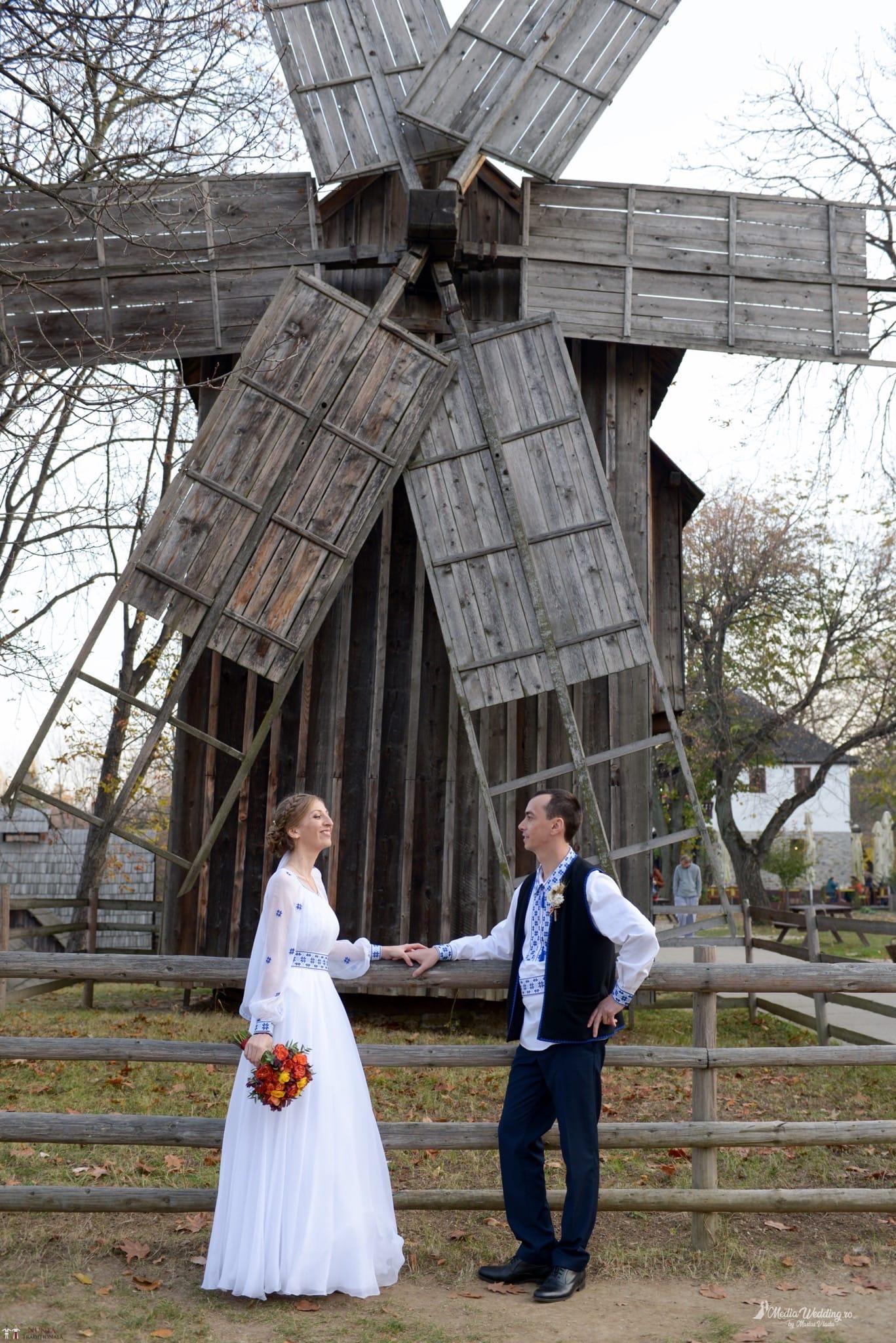 Povești Nunți Tradiționale - Alina-Maria și Ilie, nuntă tradițională în București 29