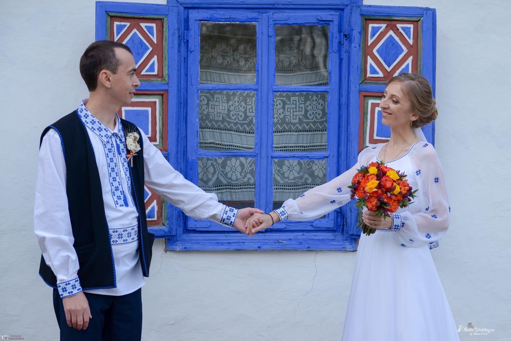 Povești Nunți Tradiționale - Alina-Maria și Ilie, nuntă tradițională în București 30
