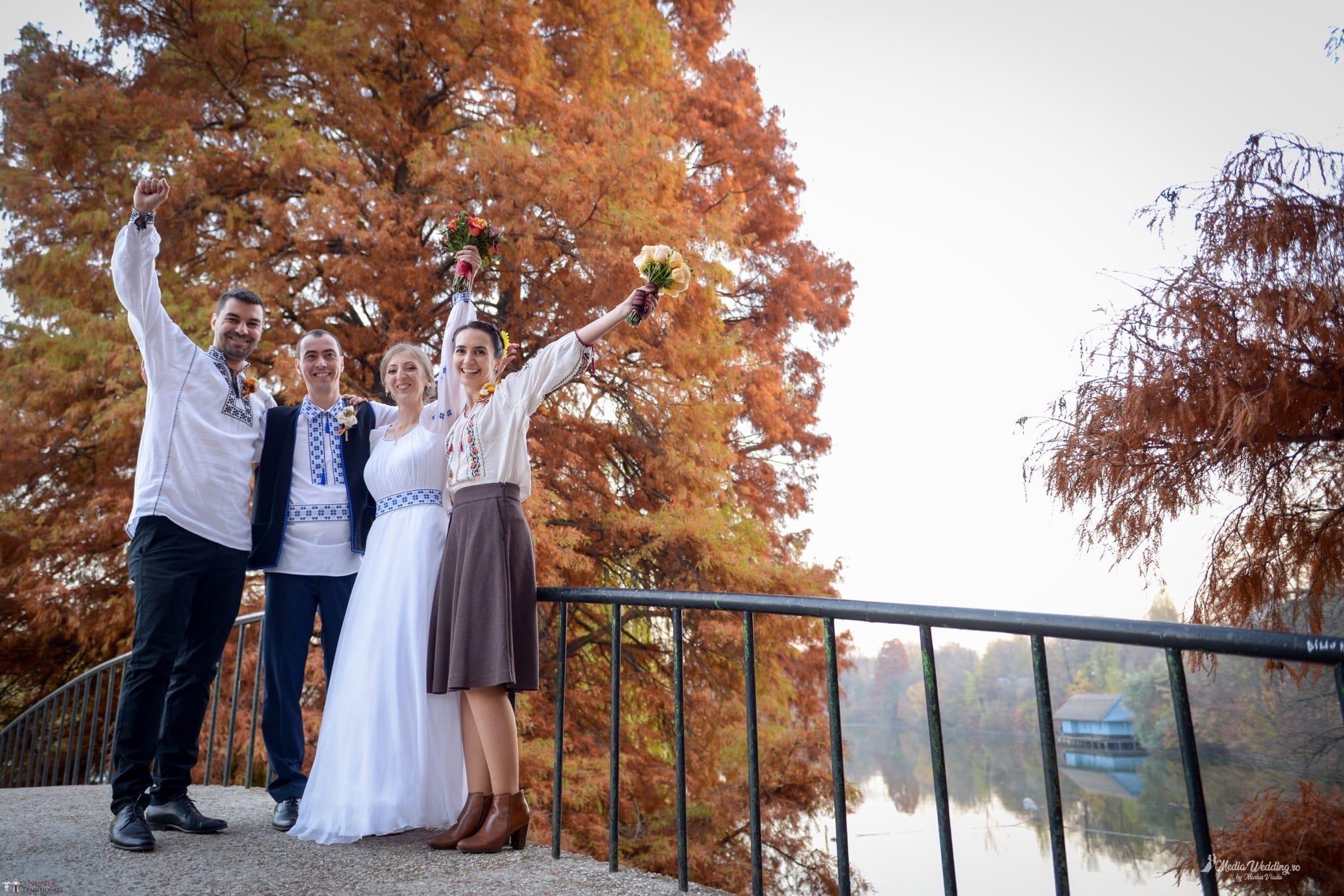 Povești Nunți Tradiționale - Alina-Maria și Ilie, nuntă tradițională în București 33