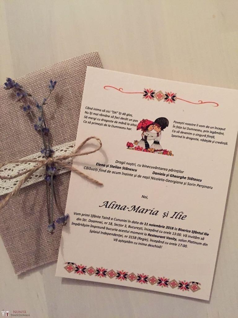 Povești Nunți Tradiționale - Alina-Maria și Ilie, nuntă tradițională în București 48