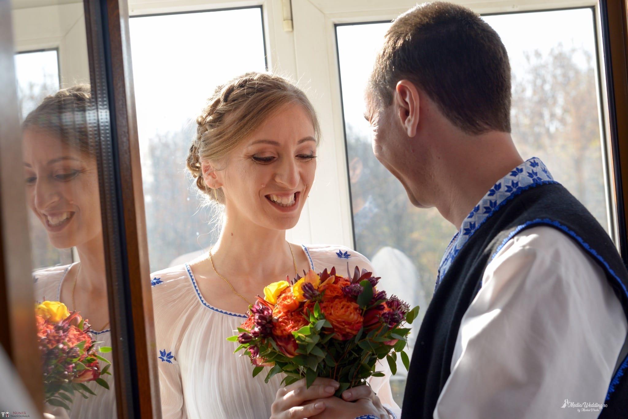 Povești Nunți Tradiționale - Alina-Maria și Ilie, nuntă tradițională în București 7