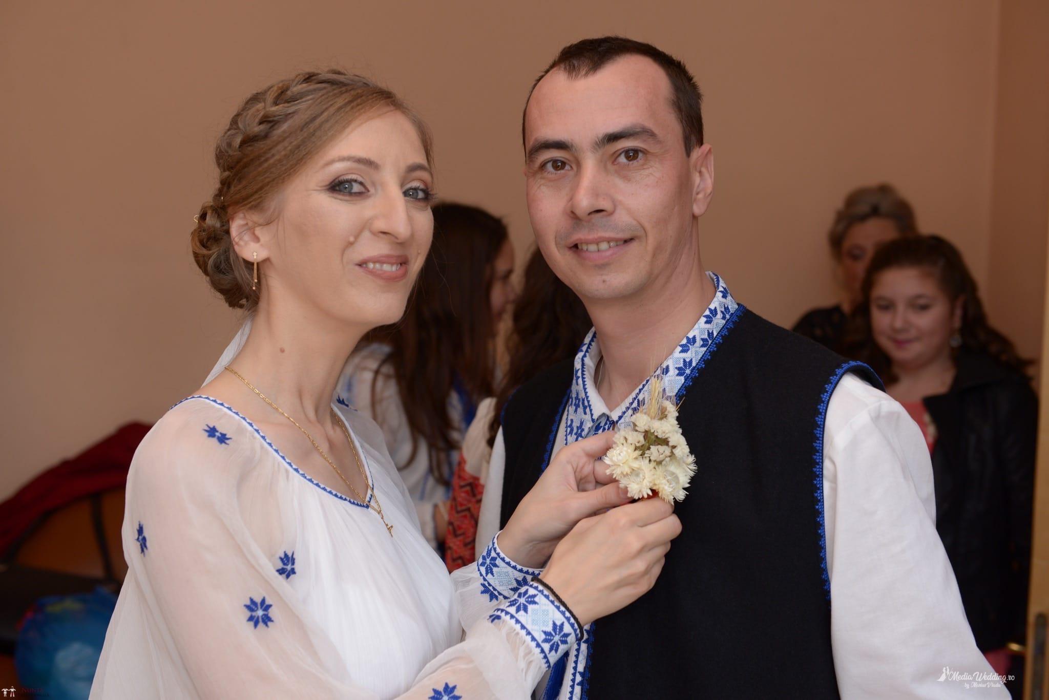Povești Nunți Tradiționale - Alina-Maria și Ilie, nuntă tradițională în București 8