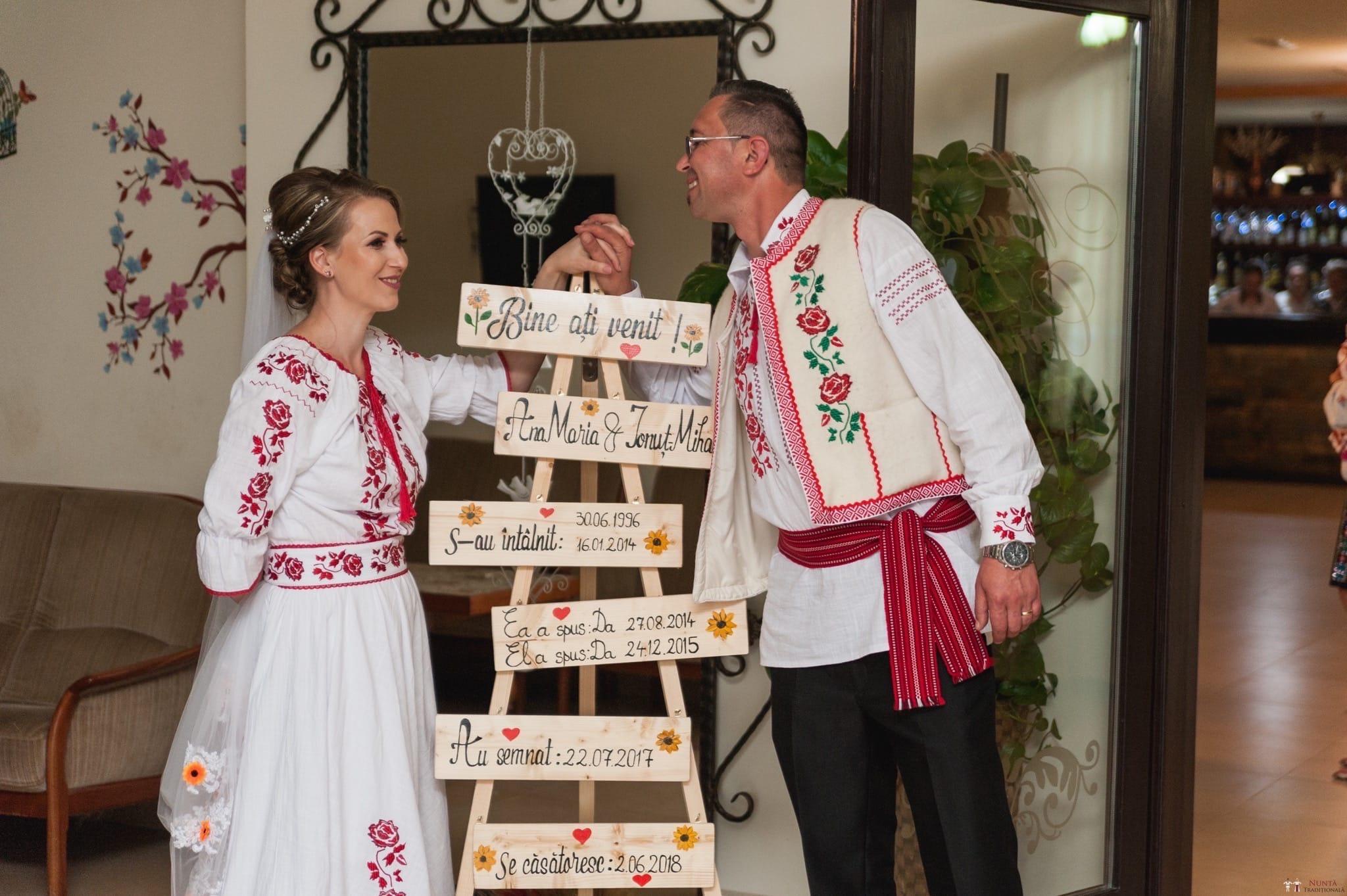 Povești Nunți Tradiționale - Anamaria și Ionuț-Mihai, nuntă în Târgu Ocna 23